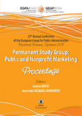 33rd Annual Conference of the European Group for Public Administration Bucharest, Romania, September 2011. Permanent Study Group: Public and Nonprofit Marketing. Proceedings