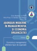 Abordări moderne în managementul și economia organizației. Volumul 3 - Economia și managementul diferitelor tipuri de organizații