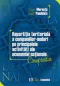 Repartiția teritorială a companiilor-noduri pe principalele activități ale economiei naționale. Compendiu