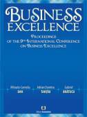 Business Excellence. Proceedings of the 9th International Conference on Business Excellence