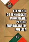 Elemente de tehnologia informației pentru administrație publică