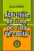 Achizițiile de firme pe piața de capital