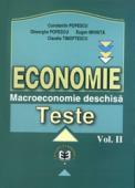 Economie. Teste, volumul II - Macroeconomie deschisă