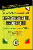 Managementul producției, clasa a XII-a