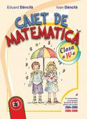 Caiet de matematică. Clasa a IV-a