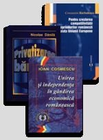 Pachet: Privatizare, bănci, întreprinderi românești, gândirea economică românească