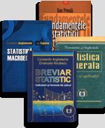 Pachet: Breviar statistic, fundamentele statisticii teoretice, statistică macroeconomică și generală