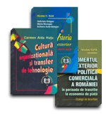 Pachet: Cultura organizațională și transfer de tehnologie, istoria comerțului exterior, politica comercială românească