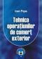 Tehnica operațiunilor de comerț exterior
