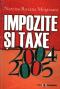 Impozite și taxe 2004-2005