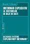 Dictionar explicativ al sistemelor de baze de date