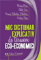 Mic dicționar explicativ de termeni eco-economici