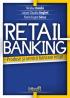 Retail banking. Produse și servicii bancare retail