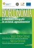 Bioeconomia. O abordare integrată în sectorul agroalimentar