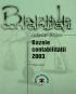 Bazele contabilității 2003, ediția a șasea
