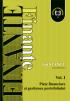 Finanțe, volumul 1: Piețe financiare și gestiunea portofoliului, ediția I