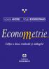 Econometrie. Ediția a doua revăzută și adăugită