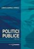 Politici publice, ediția a II-a