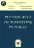 Planificarea de marketing în turism. Concepte și aplicații