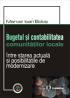 Bugetul și contabilitatea comunităților locale – între starea actuală și posibilitățile de modernizare