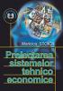 Proiectarea sistemelor tehnico economice