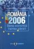 România 2006: starea economică înaintea aderării
