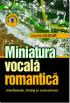 Miniatura vocală romantică: interferențe, limbaj și comunicare