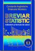 Breviar statistic: indicatori și formule de calcul