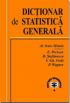 Dicționar de statistică generală