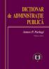 Dictionar de administrație publică, ediția a doua