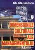 Dimensiunile culturale ale managementului