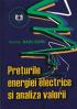 Prețurile energiei electrice și analiza valorii