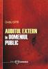 Auditul extern în domeniul public
