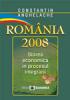 România 2008: starea economică în procesul aderării