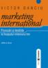 Marketing internațional: provocări și tendințe la începutul mileniului trei, ediția a II-a
