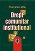 Drept comunitar instituțional