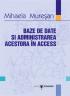Baze de date și administrarea acestora în ACCESS